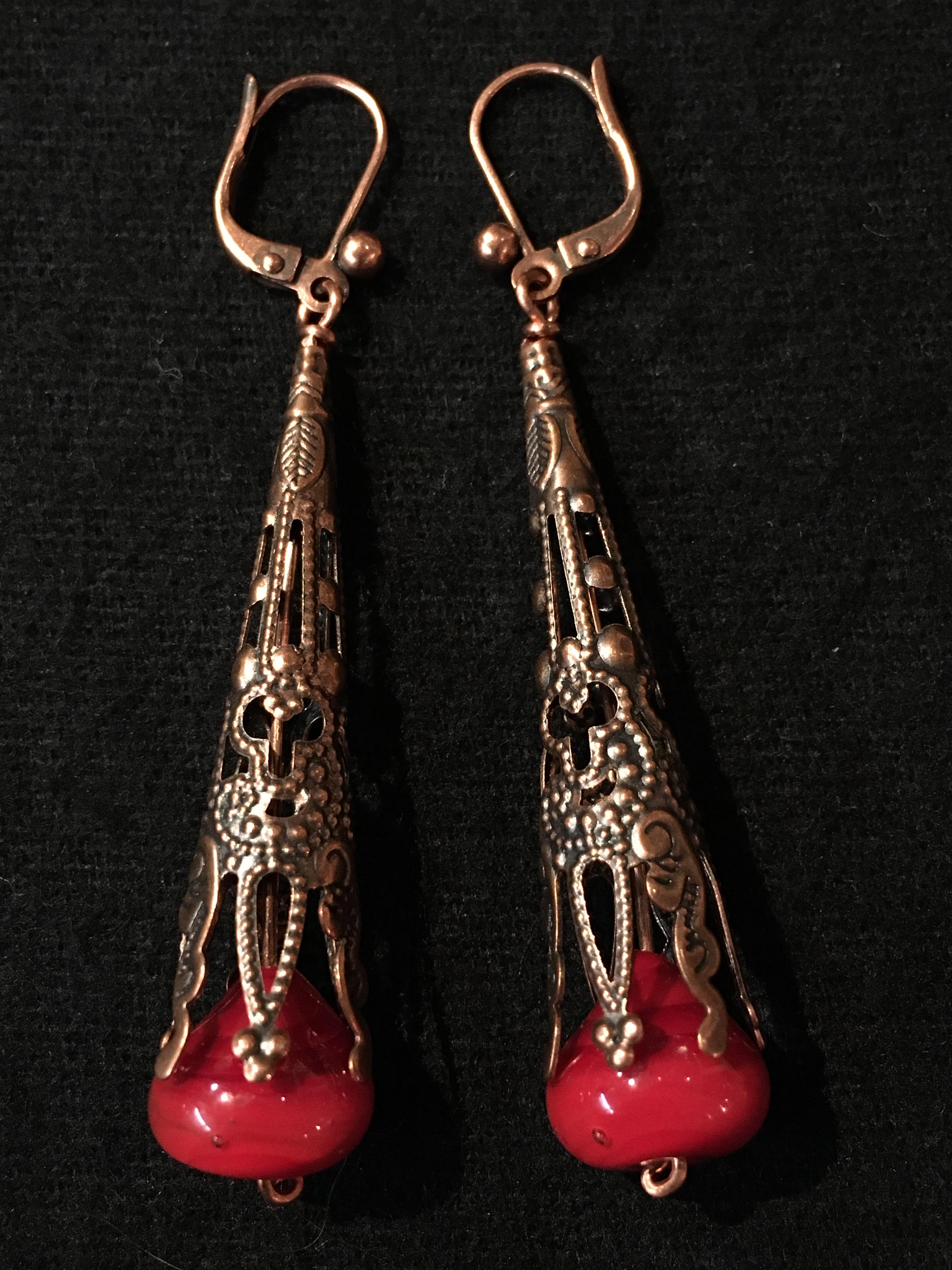Boucles d'oreille ref. BO/MF03r/28€