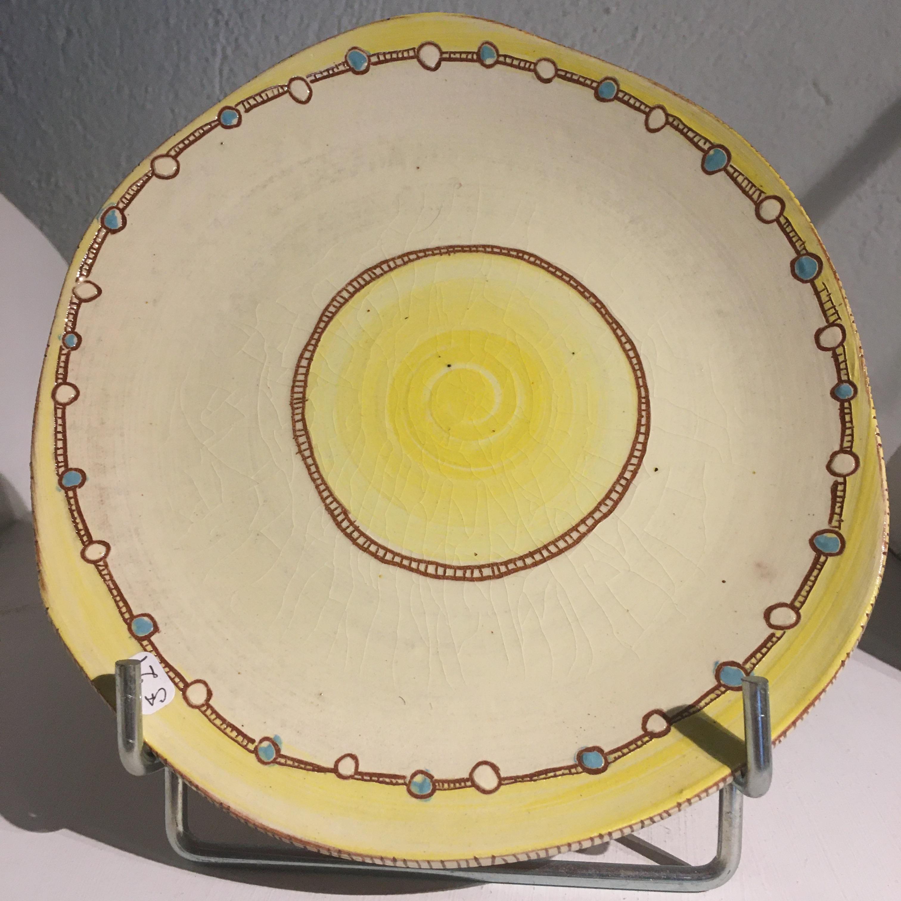 Assiette plate D20cm : ref.CA/assiette/21€