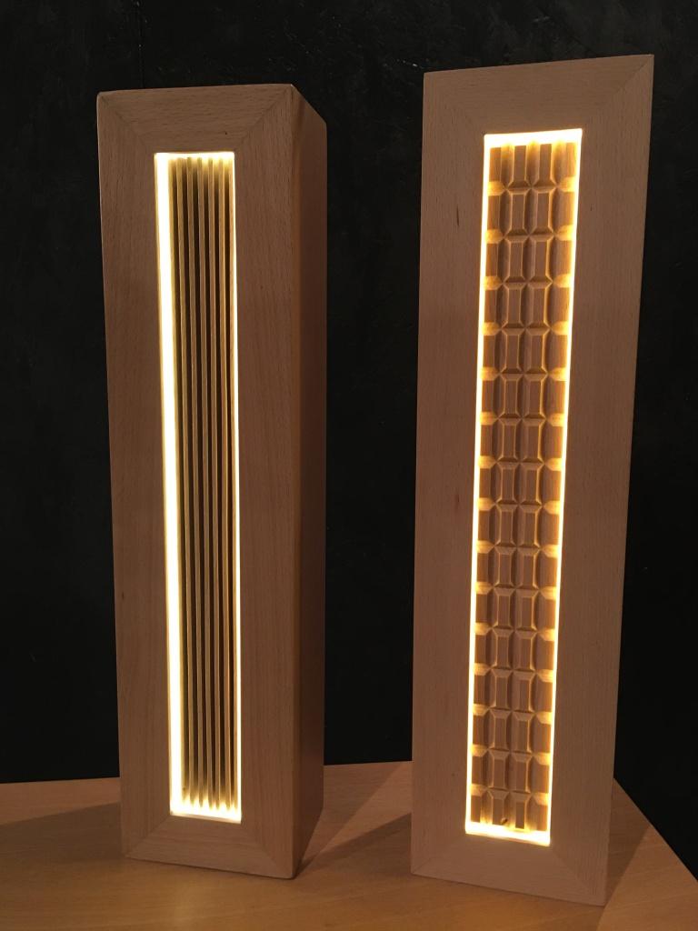 lampe calandre (H47cm) l'unité : ref.AK/calandre/296€